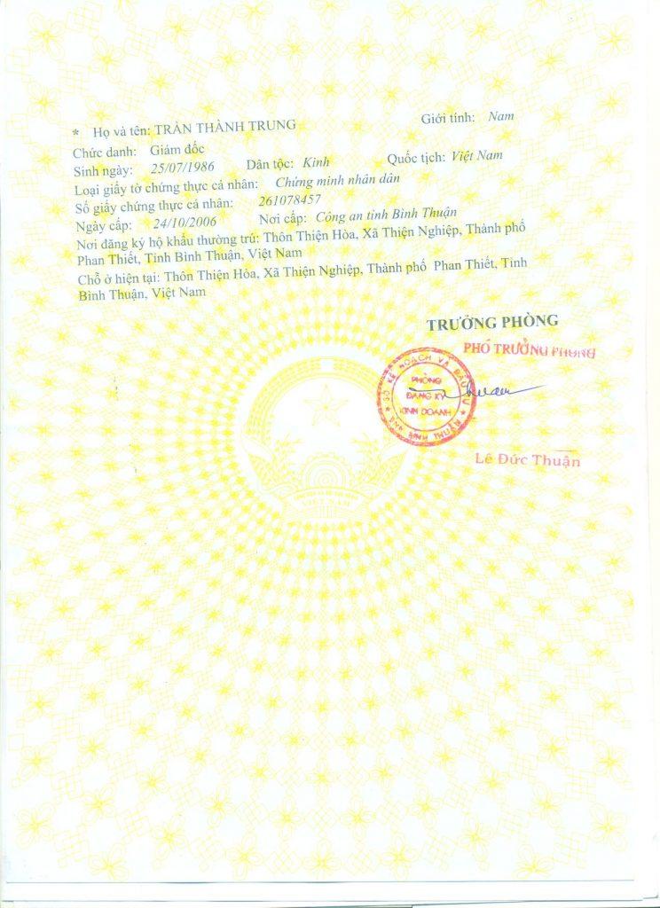 liveinmuine.com business licence B