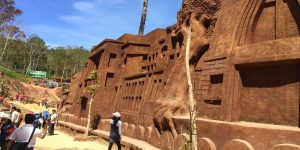 The clay tunnel or Dalat model village of clay sculptures is a must-see destination