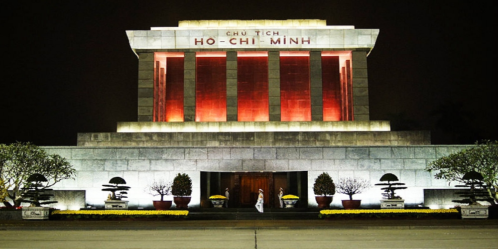 The Ho Chi Minh Mausoleum is an important landmark of Ha Noi capital city and stands integrated to the political and social history of Viet Nam.