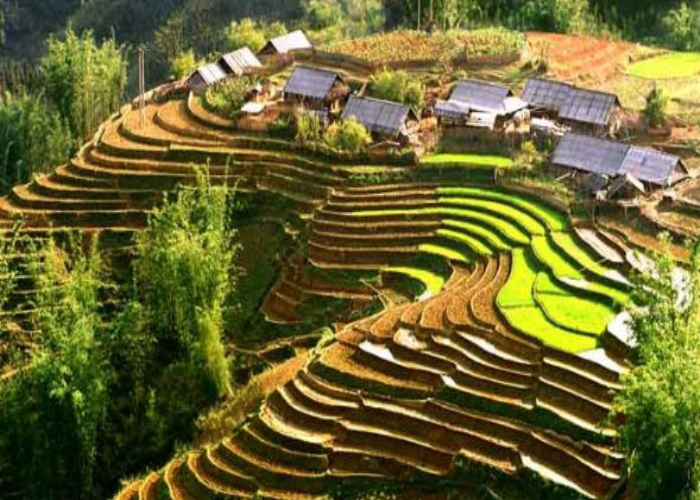 Sapa in the northern province of Lao Cai.
