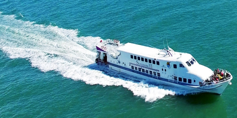 Superdong, a high-speed boat operating on the Phan Thiet - Phu Quy route, officially opened at the Phan Thiet Port, in the central province of Binh Thuan, on June 21.