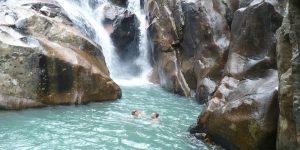 BA HO waterfall Nha Trang City.