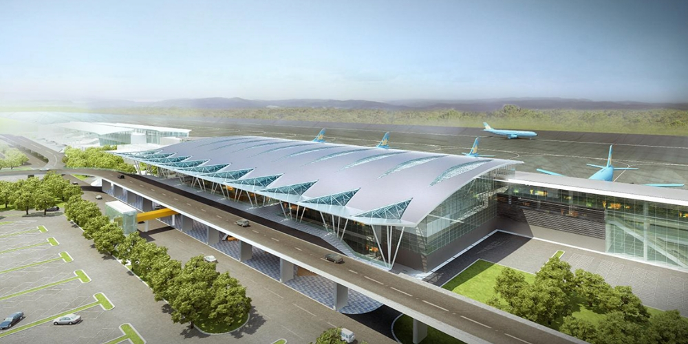 Danang International airport (DAD, sân bay Đà Nẵng ) is the third busiest airport in the Vietnam. Located at 16°02′38″N 108°11′58″E 33 feet (10 meters) above sea level, on the shore of the South China Sea between Hanoi and Ho Chi Minh,