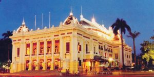 Hanoi opera house.