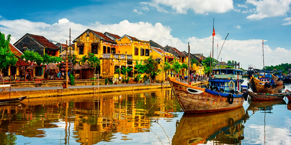 "Hoi An Ancient Town is UNESCO heritage site, since 1990. Located in Vietnam, in the province of Quang Nam, only 30 km from Danang. Hoi An was known as a cargo harbor from the 15th to 19th century. Although the port of Hoi An was officially founded by Lord Nguyen in 1595, these areas have previously been inhabited at least 2200 years ago. Hoi An Ancient Town (會安) translates as ""peaceful meeting place"". In English and other European languages, the town was known historically as Faifo. This word is derived from Vietnamese Hội An phố (the town of Hội An), which was shortened to ""Hoi-pho"", and then to ""Faifo"". Originally, Hai Pho was a divided town with the Japanese settlement across the ""Japanese Bridge"" (16th-17th century). The bridge (Chùa cầu) is a unique covered structure built by the Japanese, the only known covered bridge with a Buddhist temple attached to one side. Hoi An port loses its shine when the European shipbuilding evolved and they were able to get into the Danang Bay by large merchant ships. Moreover, the Danang became the main port for trade in central Vietnam. Large merchant ships arrived from Thailand, Indonesia, Philippines, Spain, Portugal, Netherlands, United Kingdom and from America. The first Christian missionaries also visited the Hoi An, which made Hoi An the first city in Vietnam, that encountered Christianity."
