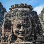 Cambodia Angkor Wat stone faces