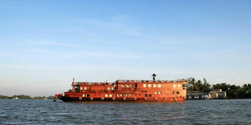 Mekong river cruises. Vessel Mekong Eyes Classic