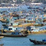 Muine fishing port