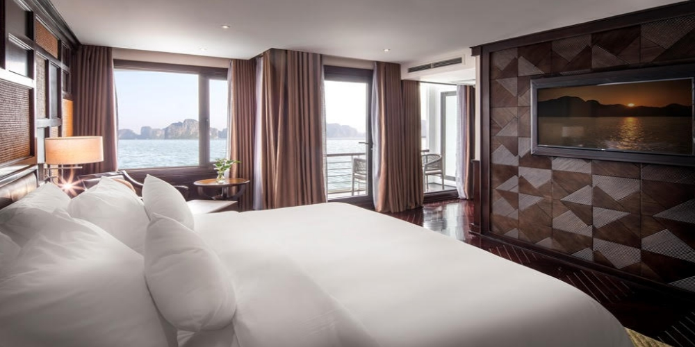 PRESIDENT CRUISES ON HALONG BAY President Cruises on Halong Bay set to sail from November 12.