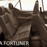TOYOTA FORTUNER 7 SEAT