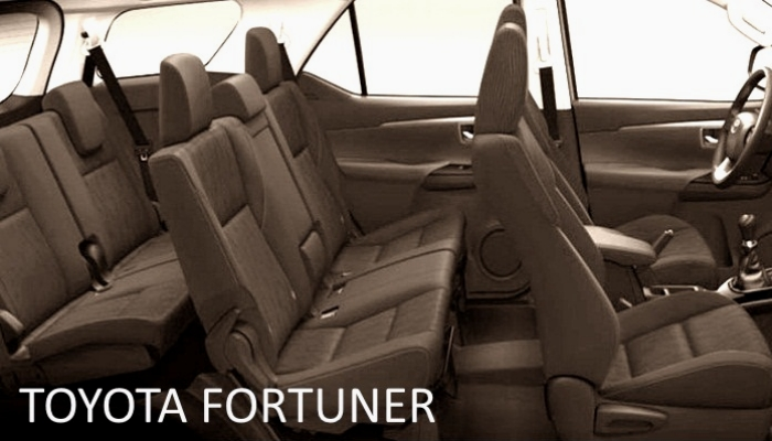 TOYOTA FORTUNER 7 SEAT