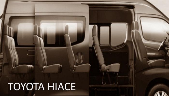 TOYOTA HIACE 16 SEAT