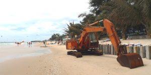 Binh Thuan beaches erosion