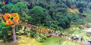 Glass bridge Moc Chau, Son La province, Vietnam