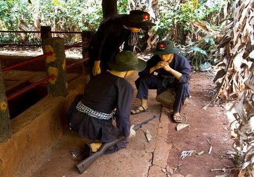 Long Tan - Nui Dat Battlefield. Group tours to Vung Tau